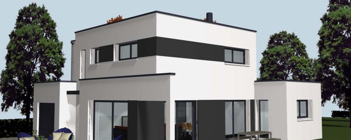 construire une maison design rennes cocoon. Black Bedroom Furniture Sets. Home Design Ideas