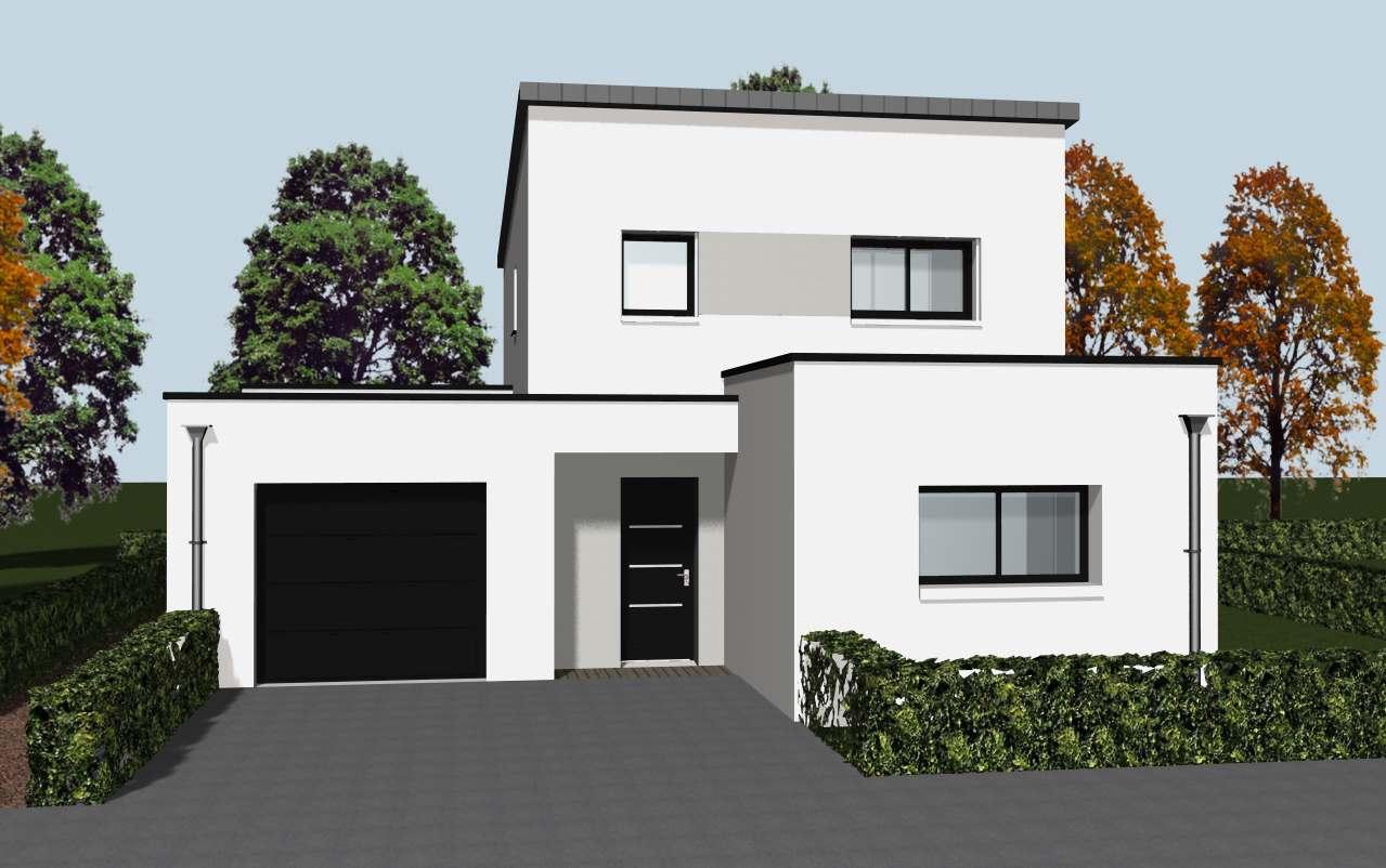 portes d 39 une maison individuelle rennes cocoon habitat. Black Bedroom Furniture Sets. Home Design Ideas
