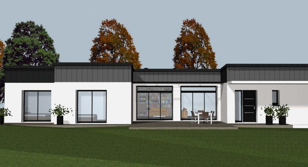 Votre constructeur de maison contemporaine sur rennes for Constructeur de maison moderne