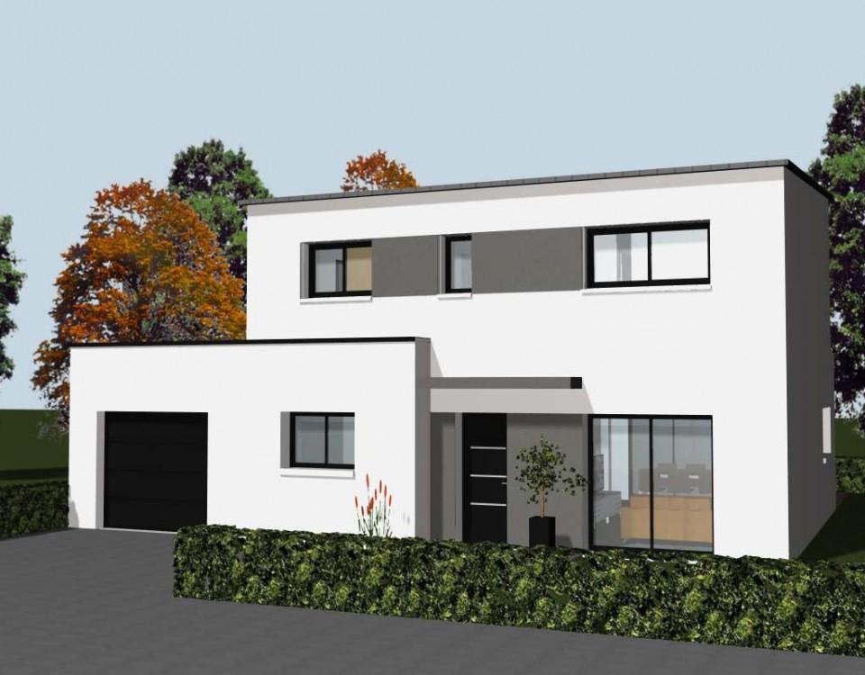 l 39 am nagement int rieur d 39 une maison contemporaine cocoon habitat. Black Bedroom Furniture Sets. Home Design Ideas