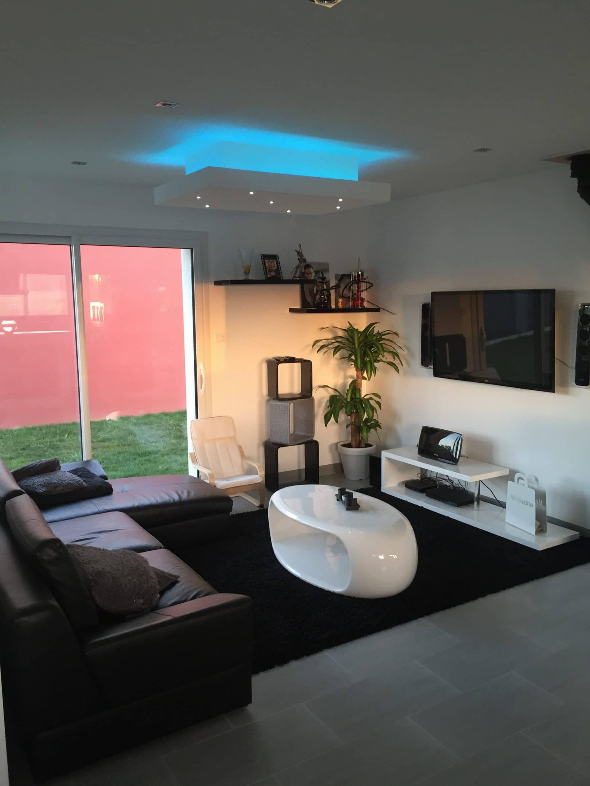 une maison contemporaine rennes cocoon habitat. Black Bedroom Furniture Sets. Home Design Ideas