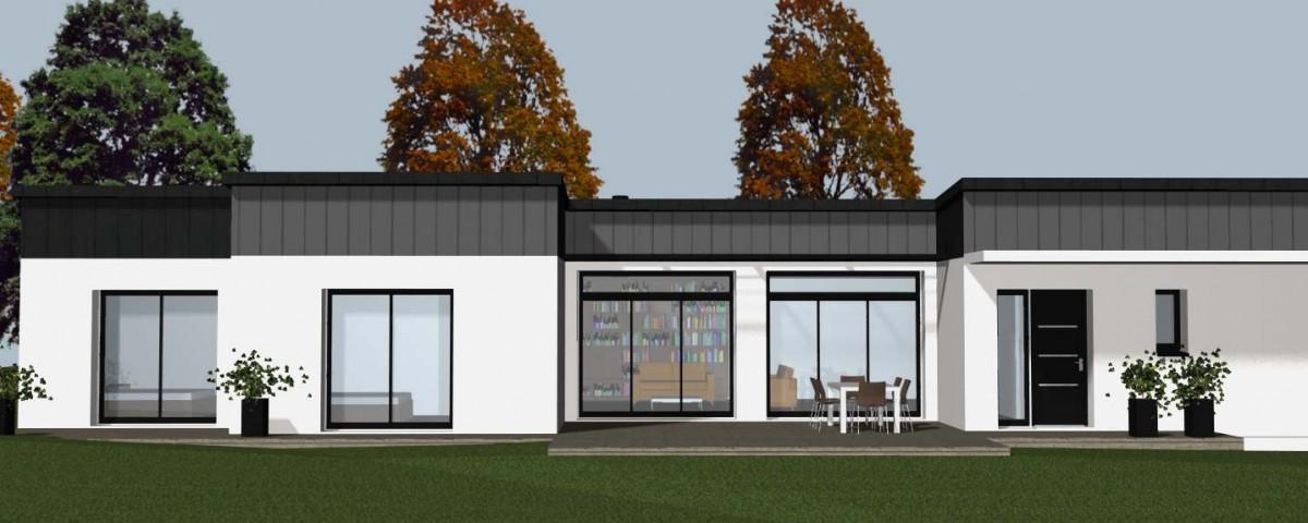 Votre constructeur de maison contemporaine sur rennes for Aventures de maison rennes
