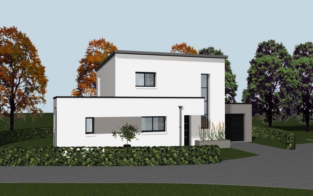 Construction DUne Maison Individuelle Neuve Avec Une Pompe  Chaleur