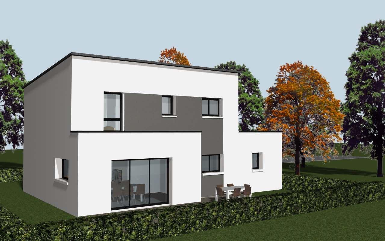 construire une maison avec des panneaux solaires cocoon
