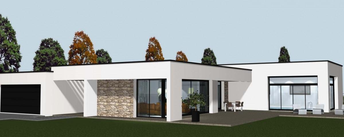 construire une maison contemporaine et toiture cocoon habitat On maison moderne aconstruire