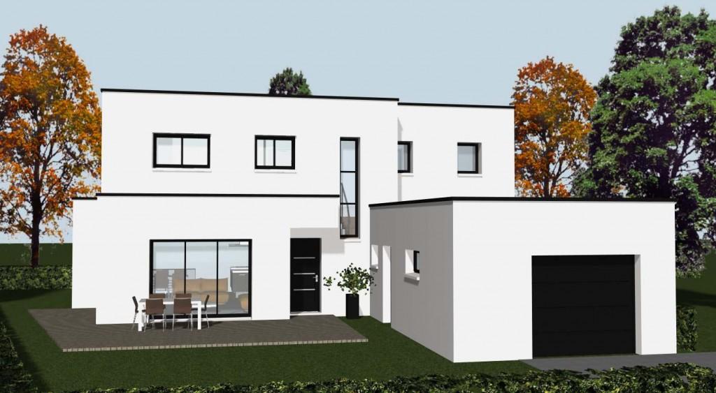 conception maison individuelle archives cocoon habitat. Black Bedroom Furniture Sets. Home Design Ideas