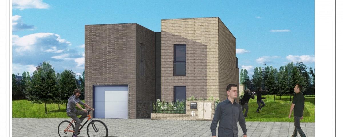 Construction d 39 une maison en brique de structure cocoon for Projet construire sa maison