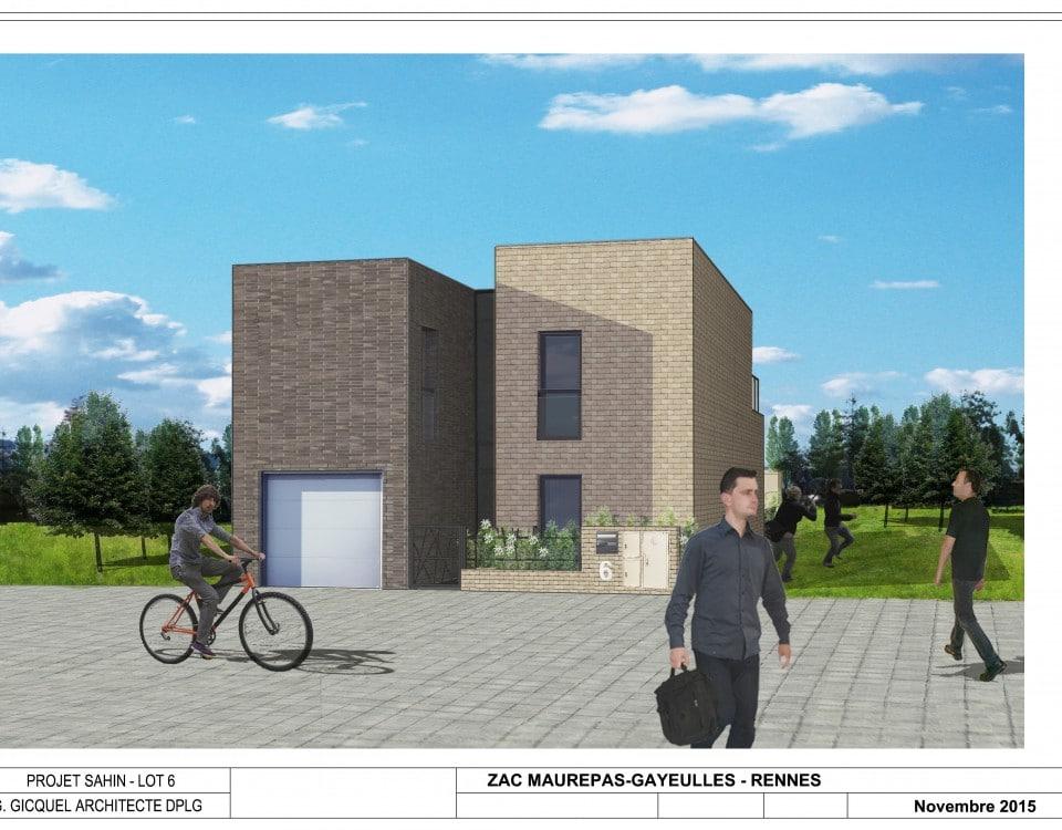 Construire une maison à Rennes