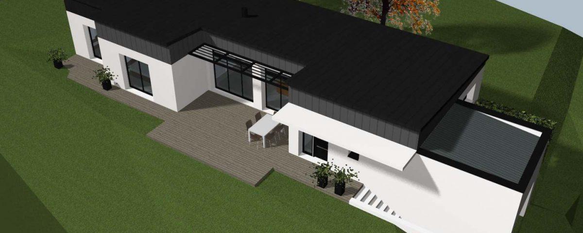 charpente de la maison cocoon habitat. Black Bedroom Furniture Sets. Home Design Ideas